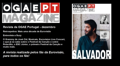 O regresso da revista da OGAE Portugal