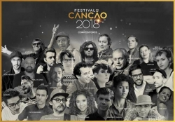 Compositores do Festival da Canção 2018